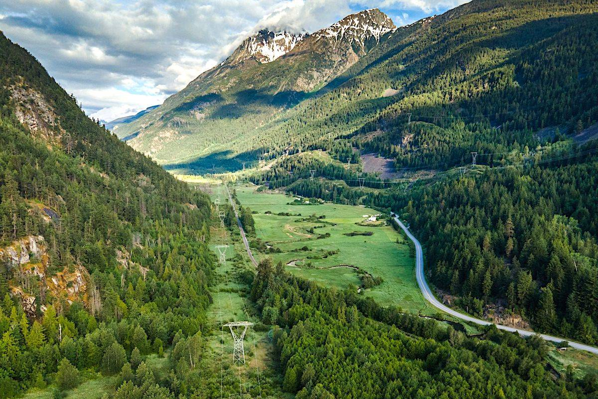 Gates Creek, 274-acres of land now in trust with the Nature Conservancy of Canada. (Nature Conservancy)